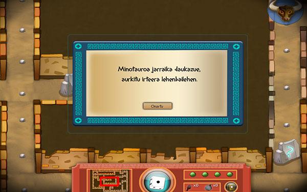 fotito Ficha1 4 - Minotauroaren labirintoan
