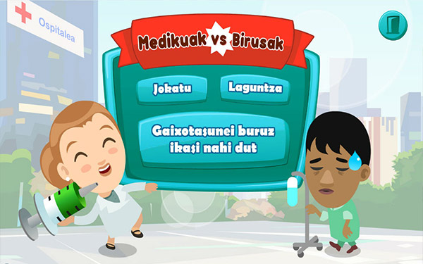 medikuak vs birusak - Medikuak vs birusak